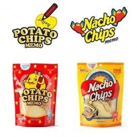 Bloco p/ Anotações Potato Chips