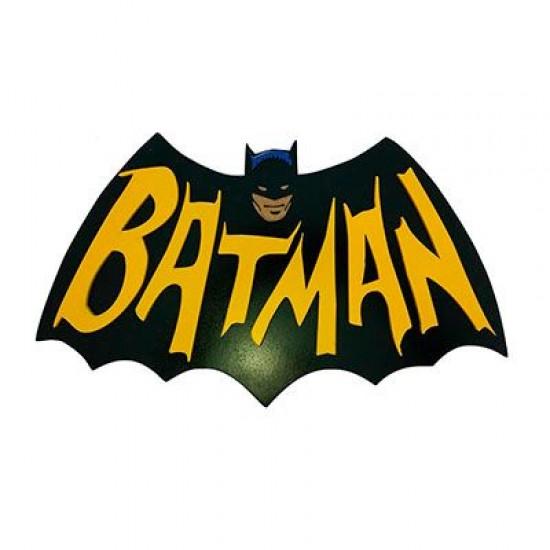 Quadro Batman Logo Retrô