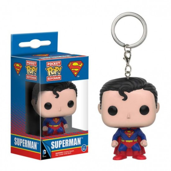 Chaveiro Funko POP - Superman