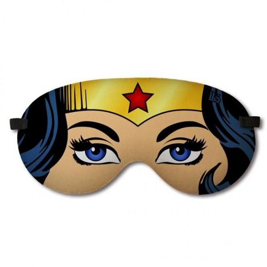 Máscara de Dormir Mulher Maravilha Super Friends