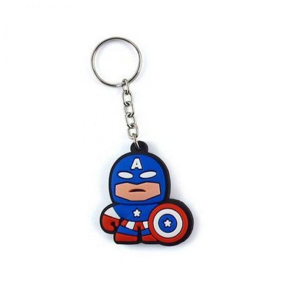Chaveiro Cute Captain America