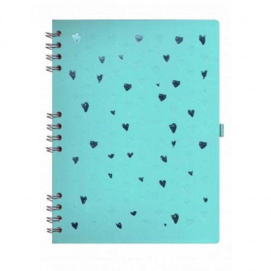 Caderno Romantic Verde