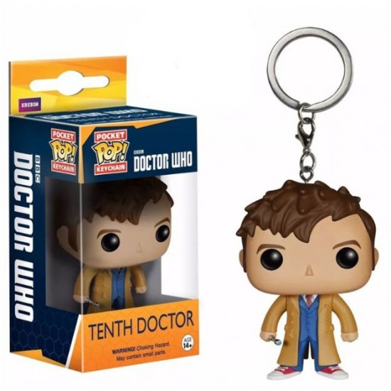Chaveiro Funko POP - Tenth Doctor