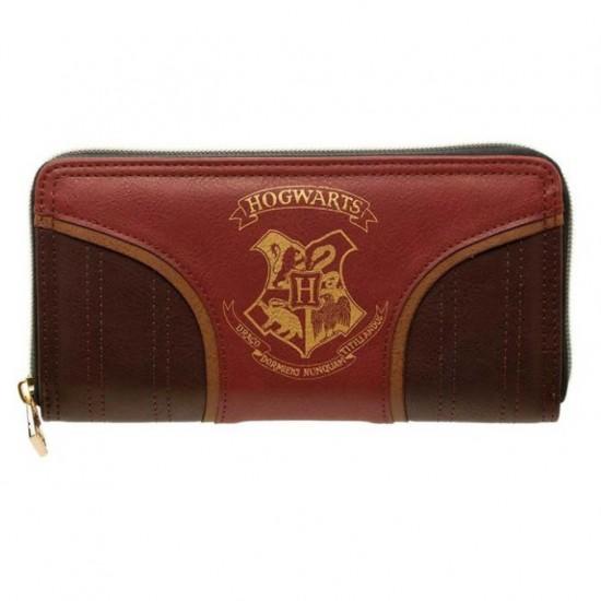 Carteira Retangular c/ Zíper - Harry Potter Team Quidditch