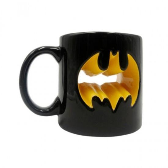 Caneca Porcelana Mould Core Batman Logo