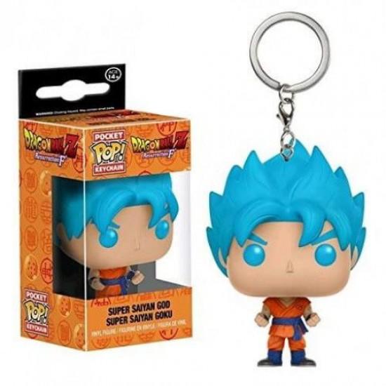 Chaveiro Funko POP - Super Saiyan God Super Saiyan Goku