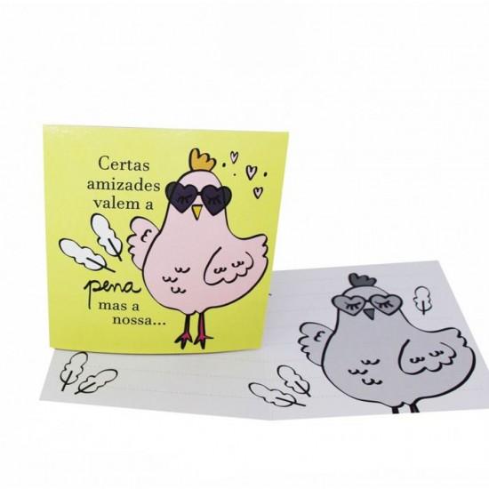 Cartão Certas Amizades Valem a Pena