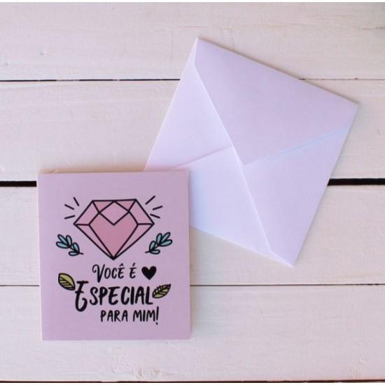 Cartão Você É Especial Pra Mim