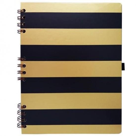 Caderno Gold & Kraft