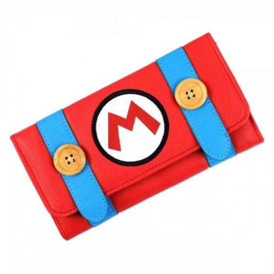 Carteira Retangular Super Mario