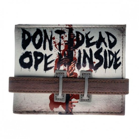 Carteira Walking Dead - Dont Open Dead Inside