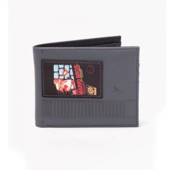 Carteira Cartucho - Super Mario Bros