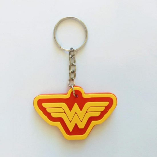 Chaveiro Cute Wonder Woman Logo
