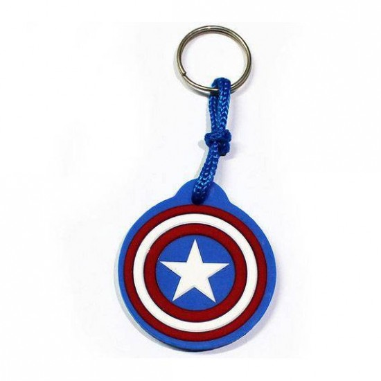 Chaveiro Cute Captain America Shield