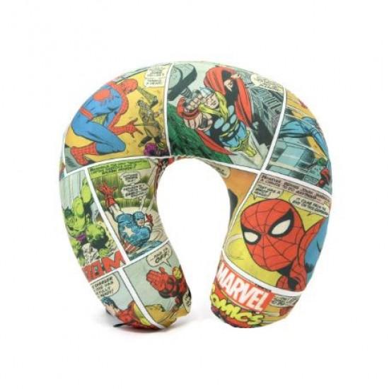 Almofada Pescoço Micropérolas Marvel HQ Colors