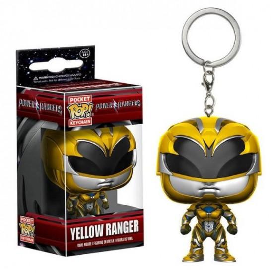 Chaveiro Funko POP - Yellow Ranger