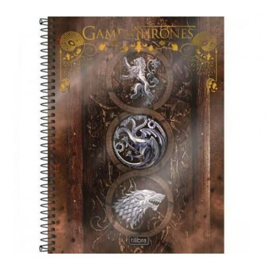 CADERNO GAME OF THRONES 96FL (SORTIDO)
