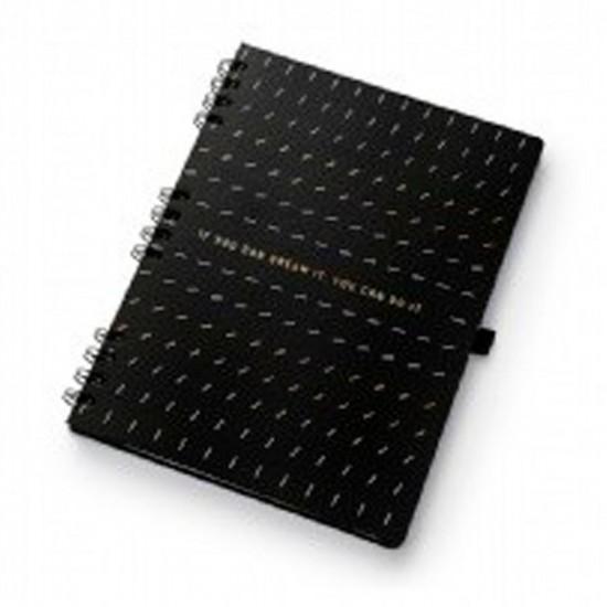 Caderno Noir Dream