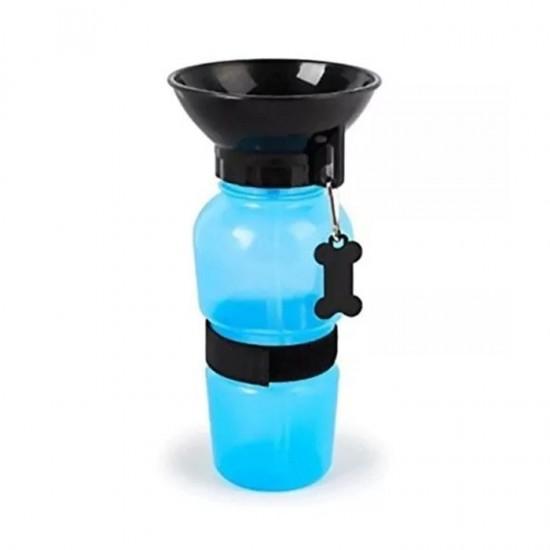 Bebedouro Portátil para Cães - Acqua Dog Azul