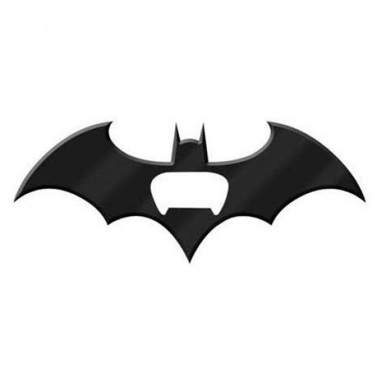 Abridor de Garrafa Metal Magnético Batarang