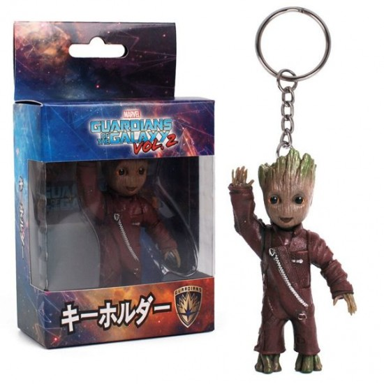Chaveiro Red Jacket Funny Groot