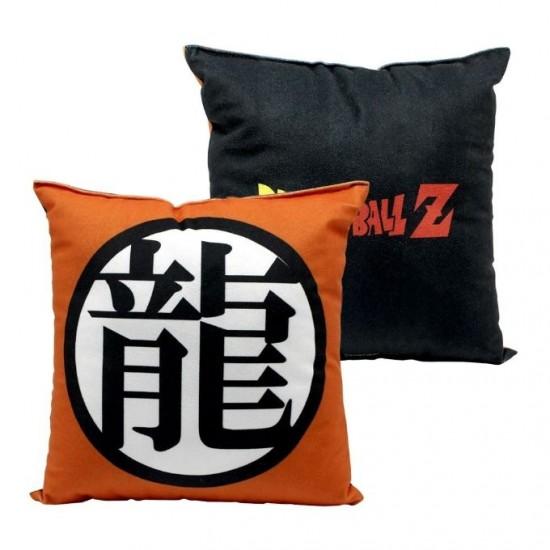Almofada Fibra Veludo 25x25cm Símbolo Dragon Ball Z