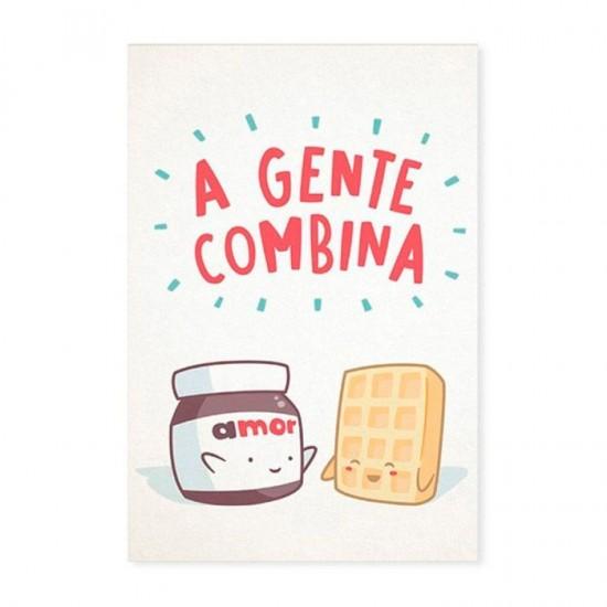Cartão Comemorativo A Gente Combina