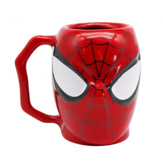 Caneca Formato 3D 400ml Spider Man