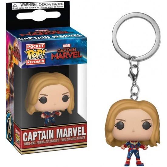 Chaveiro Funko POP - Captain Marvel