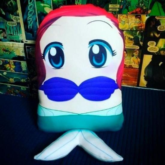 Almofada Pillowtoy Princesa Ariel