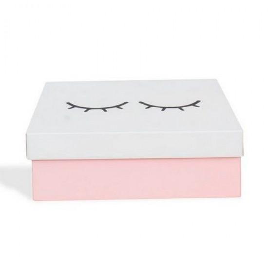 Caixa de Aço p/ Maquiagens Cílios