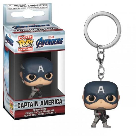 Chaveiro Funko POP - Captain America Endgame