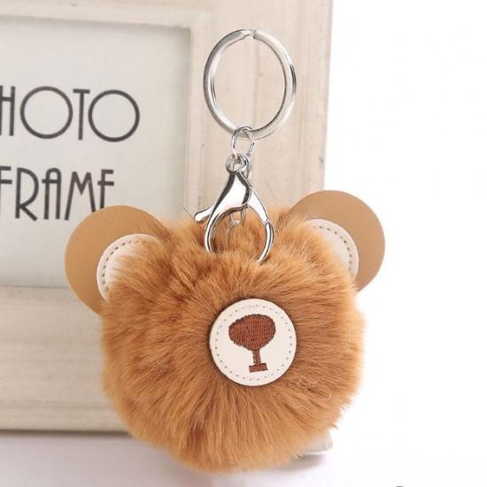Chaveiro Pompom - Urso