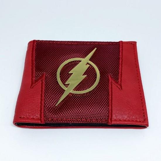 Carteira DC Flash Logo