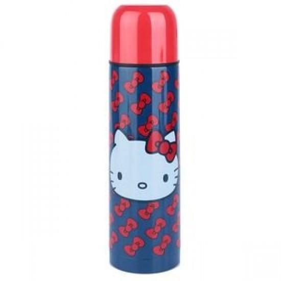 Garrafa Térmica Aço Inox Hello Kitty Little Laces 500ml