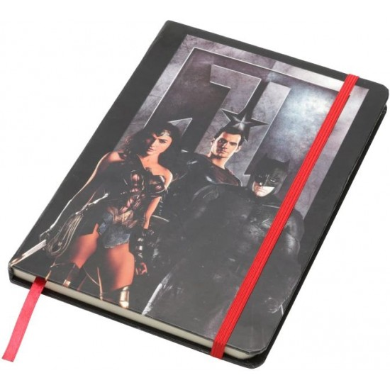 Caderneta de Anotação JL Characters Preto A5