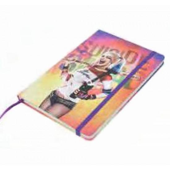 Caderneta de Anotação Harley Quinn Body Colorida A5