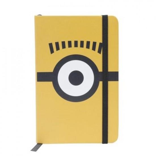 Caderneta de Anotação Minions Glasses Amarelo A6