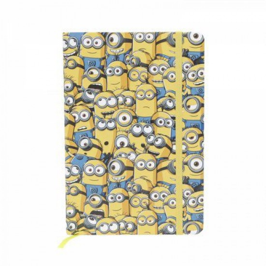 Caderneta de Anotação Minions Characters Colorido A5