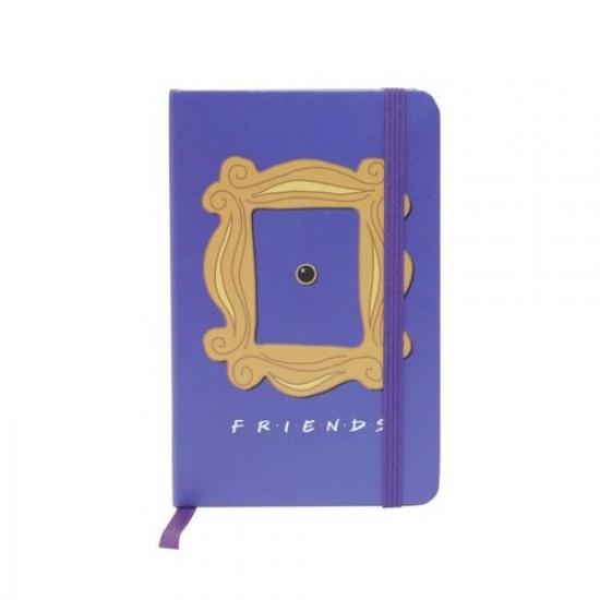 Caderneta de Anotação Friends Frame Roxo A6