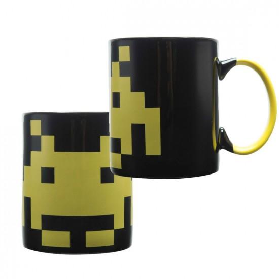 Caneca Porcelana Space Invaders