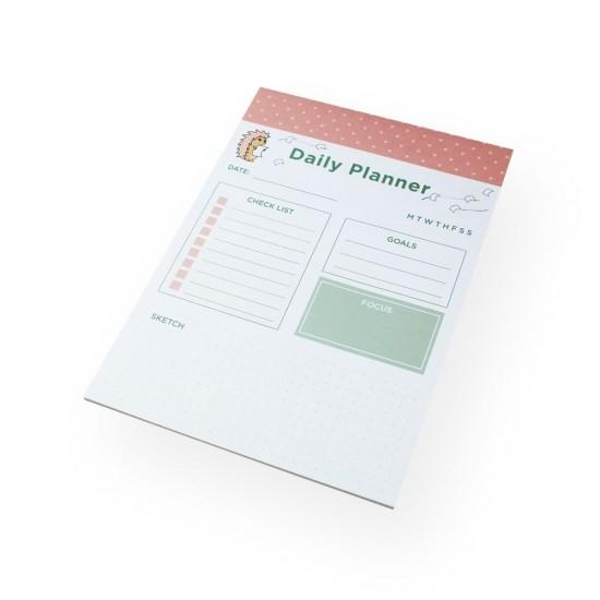 Bloco A5 Riccio - Daily Planner