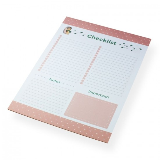 Bloco A4 Riccio - Checklist