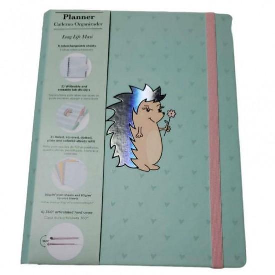 Caderno Planner Riccio Maxi SystemFlex